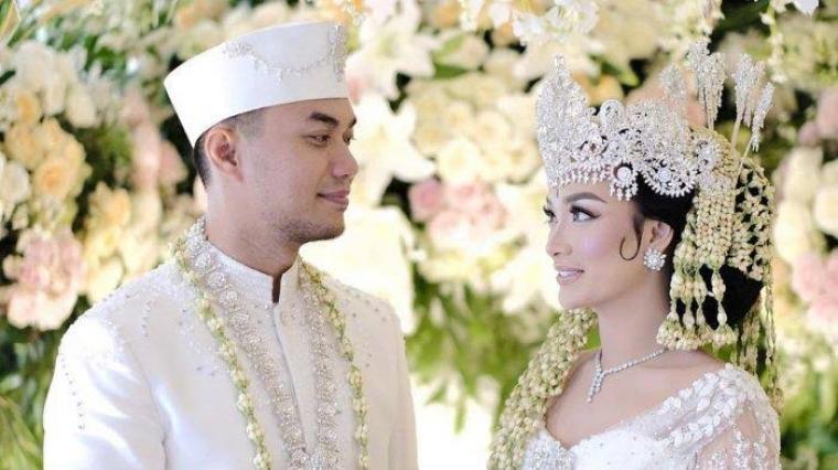 Zaskia Gotik dan Sirajuddin Mahmud. (Dok: Tribunnews)