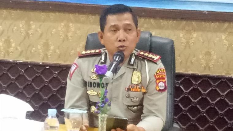Direktur Lalu Lintas (Dirlantas) Polda Banten Komisaris Besar (Kombes) Pol. Wibowo. (Foto: TitikNOL)