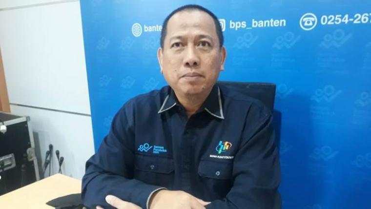 Bidang Statistik Sosial BPS Banten Heri Purnomo. (Foto: TitikNOL)