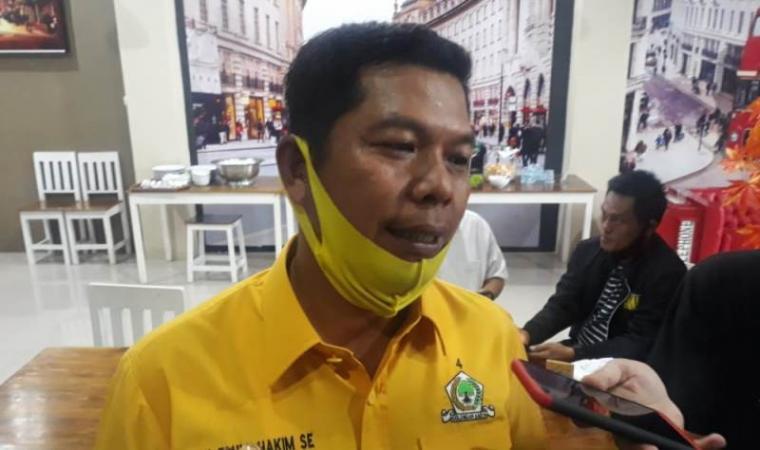 Ketua DPD Golkar Kabupaten Serang Fahmi Hakim. (Foto: TitikNOL)