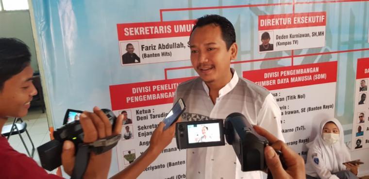 Ketua Pokja Wartawan Harian dan Elektronik Kabupaten Lebak, Mastur Huda. (Foto: TitikNOL)