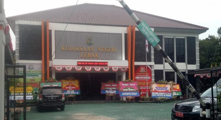 Kejaksaan Negeri Kabupaten Lebak. (Foto: TitikNOL)