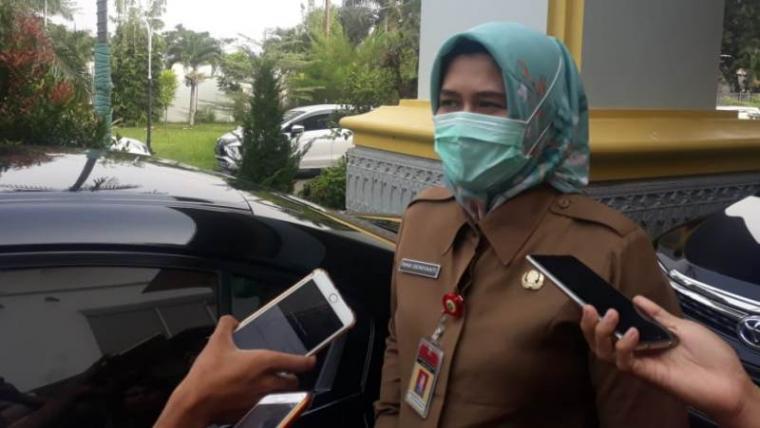 Kepala BPKAD Provinsi Banten, Rina Dwiyanti. (Foto: TitikNOL)