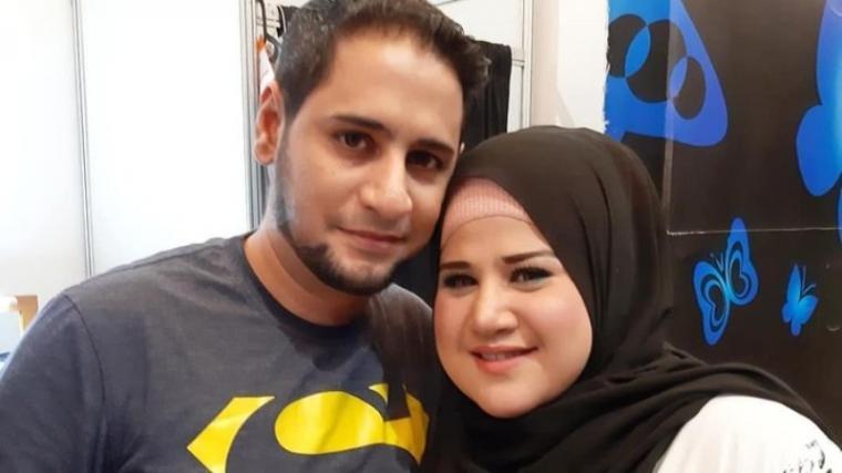 Dhawiya Zaida foto dan Muhammad Basurrah. (Dok: Detik)