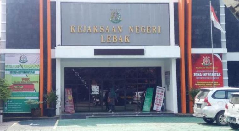 Kejaksaan Negeri (Kejari) Kabupaten Lebak. (Dok: TitikNOL)