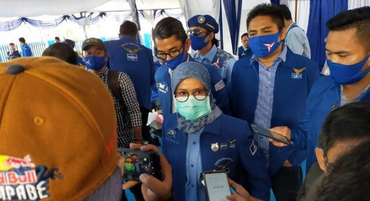 Ketua DPD Demokrat Provinsi Banten Iti Oktavia Jayabaya. (Foto: TitikNOL)