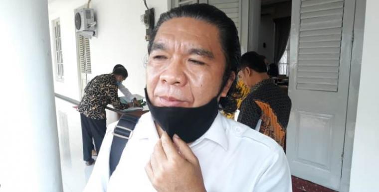 Sekretaris daerah Provinsi Banten Al Muktabar. (Foto: TitikNOL)
