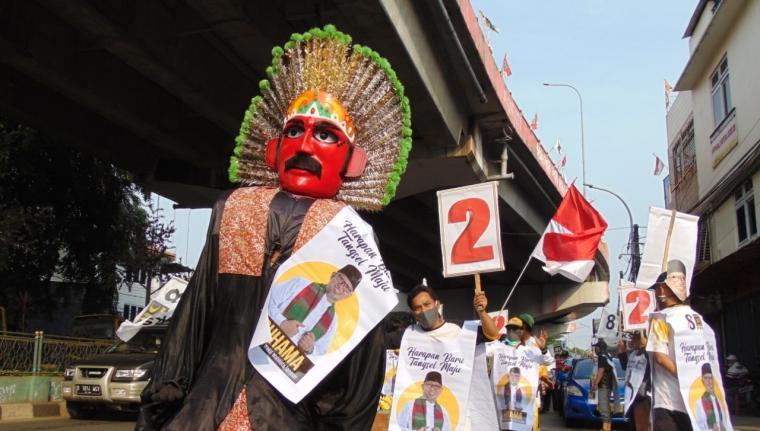 Kampanye pilkada Tangerang Selatan. (Foto: TitikNOL)