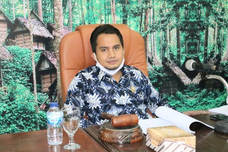 Dindin Nurohmat, Ketua DPRD Lebak. (Foto: Ist)