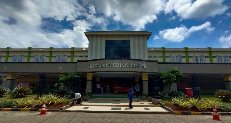 Rumah Sakit Krakatau Medika Kota Cilegon. (Foto: TitikNOL)