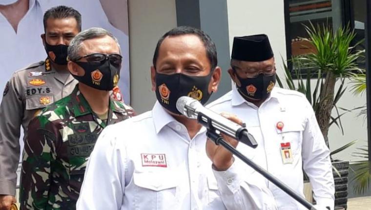 Ketua KPU Provinsi Banten Wahyul Furqon. (Foto: TitikNOL)
