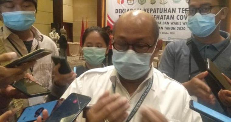 Kepala Pelayanan Medis Dinas Kesehatan Tangsel, dr. Imbar Umar Ghazali. (Foto; TitikNOL)