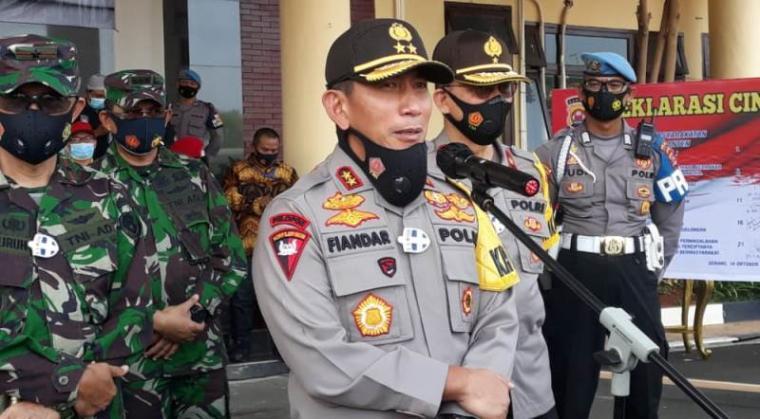 Kapolda Banten Irjen Pol Fiandar. (Foto: TitikNOL)