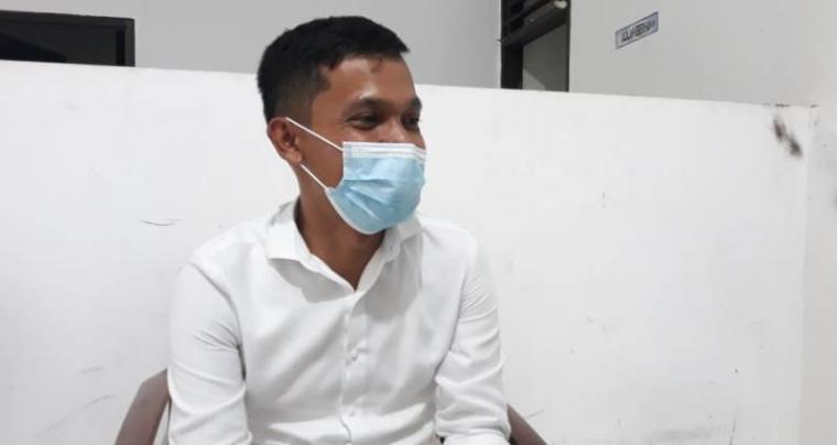 Ketua Bawaslu Kabupaten Serang Yadi. (Foto: TitikNOL)