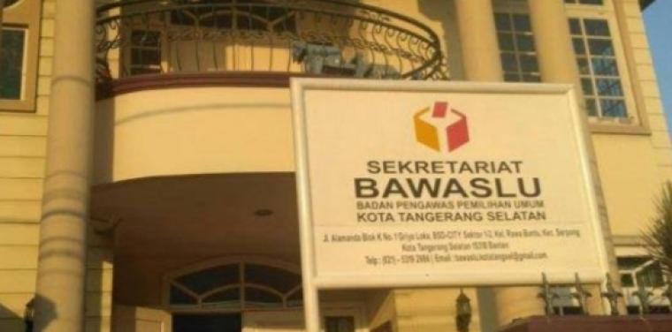 Bawaslu Tangerang Selatan. (Foto: TitikNOL)