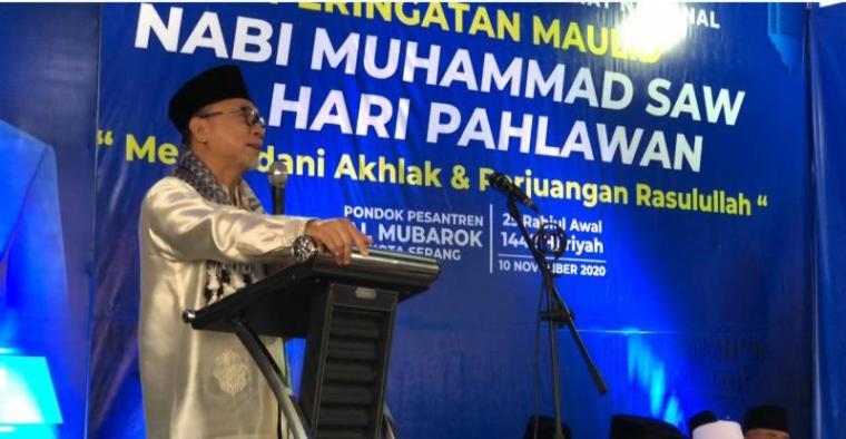 Ketua Umum Partai Amanat Nasional (PAN) Zulkifli Hasan. (Foto: TitiKNOL)