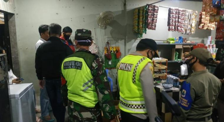 Operasi pekat dalam rangka menciptakan situasi Kamtibmas di Kabupaten Lebak. (Foto: TitikNOL)