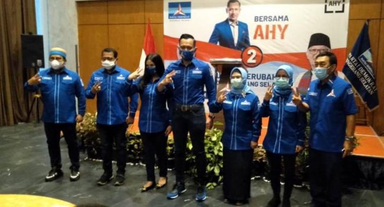 Sosialisasi pemenangan Paslon Siti Nur Azizah-Ruhamaben dalam Pilkada Tangsel, Rabu (18/11/2020). (Foto: TitikNOL)