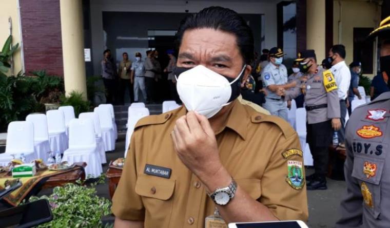 Sekda Banten Al Muktabar. (Foto: TitikNOL