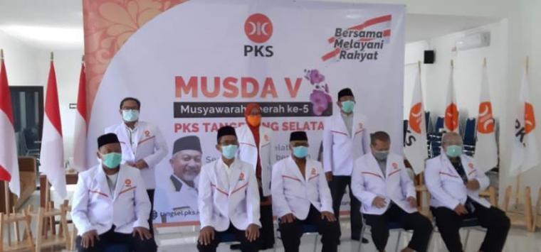 Musyawarah Daerah (Musda) V DPD PKS Tangerang Selatan. (Foto: TitikNOL)