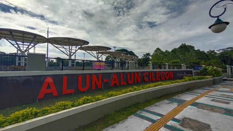 Alun -alun Kota Cilegon. (Foto: TitikNOL)