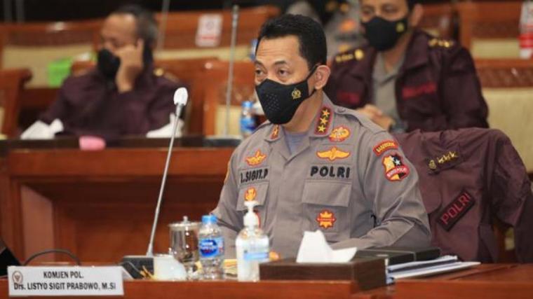 Komjen Pol Listyo Sigit Prabowo. (Dok: Liputan6)