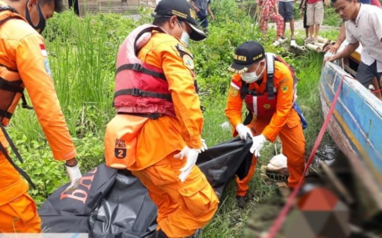 Muhammad Hasan Fadlab (4), bocah asal Lingkungan Karang Serang Banten, Kelurahan Banten, Kecamatan Kasemen, Kota Serang yang tenggelam di Kali Banten, ditemukan meninggal dunia, Kamis (14/1/2021). (Foto: TitikNOL)