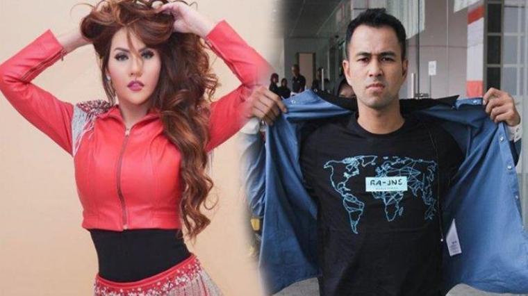 Nita Thalia dan Raffi Ahmad. (Dok: Tribunnews)