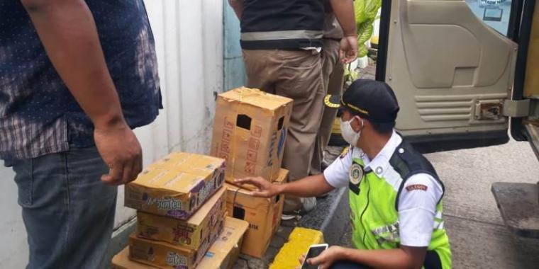 Puluhan ekor burung asal Sumatera tanpa dokumen diamankan BKP Kelas Cilegon. (Istimewa).