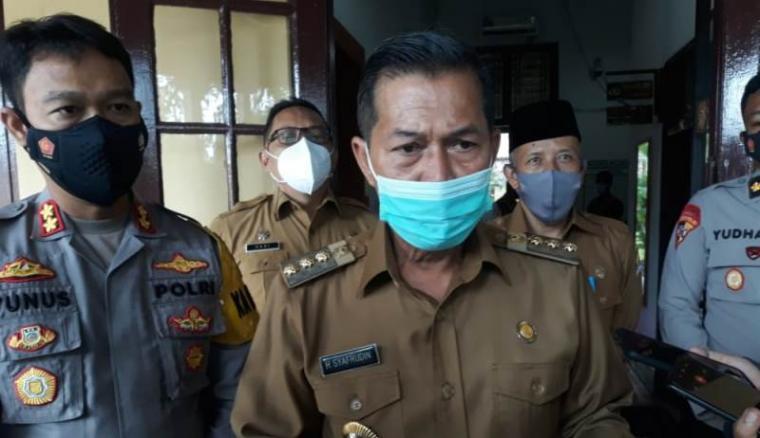 Walikota Serang, Syafrudin. (Foto: TitikNOL)