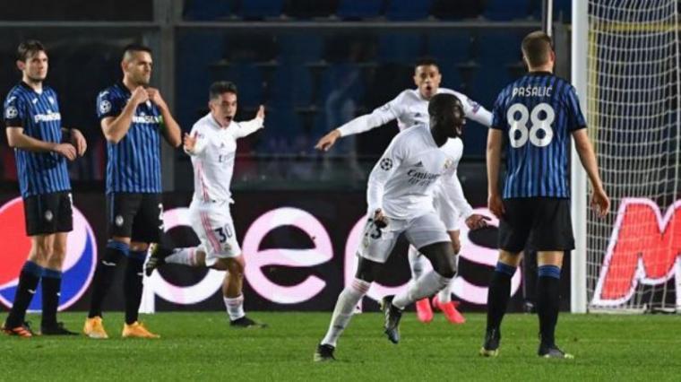 Real Madrid vs Atalanta. (Dok: Rpp)