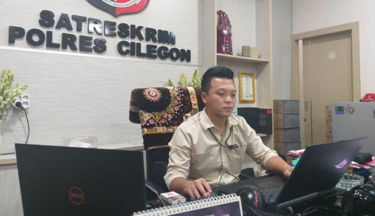 Kasat Reskrim Polres Cilegon, AKP Arief N Yusuf. (Foto: TitikNOL)