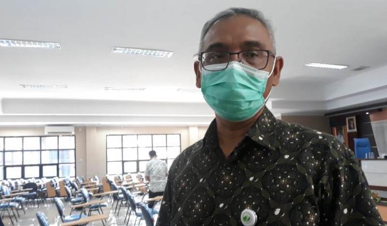 Deputi Direktur Wilayah BPJS Ketenagakerjaan Banten Eko Nugriyanto. (Foto: TitikNOL)