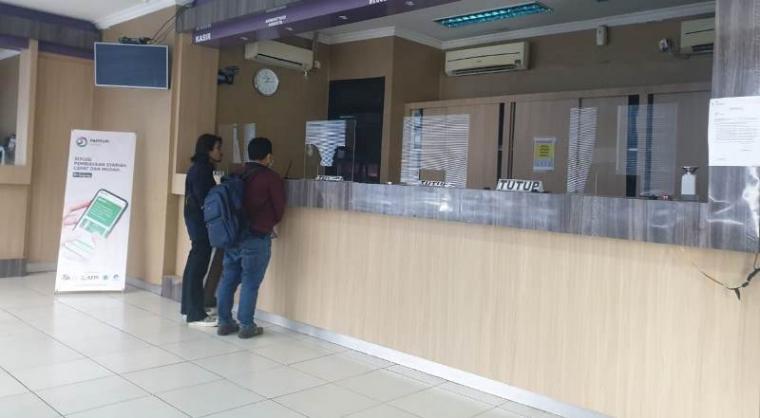Kantor Primkokas di Jl.Kh. Yasin beji Komp. PT KS, Gedung Krakatau Junction Lt.3, Kotabumi, Kecamatan Purwakarta , Kota Cilegon. (Foto: TitikNOL)