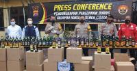 Press confence rapat kerja wilayah Partai Nasdem Provinsi Banten. (Foto: TitikNOL)