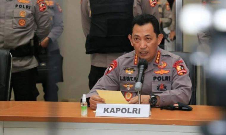 Kapolri Jenderal Pol Listyo Sigit Prabowo. (Dok: Pikiranrakyat)