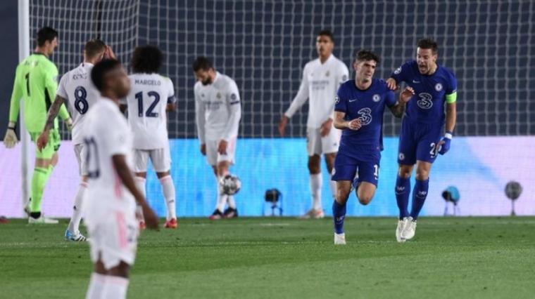 Real Madrid vs Chelsea. (Dok: Detik)