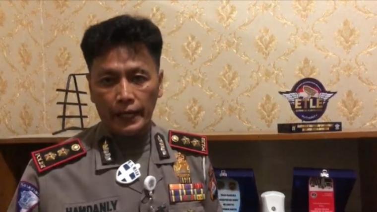 Kasubdit Gakkum Ditlantas Polda Banten AKBP Hamdani. (Foto: TitikNOL)