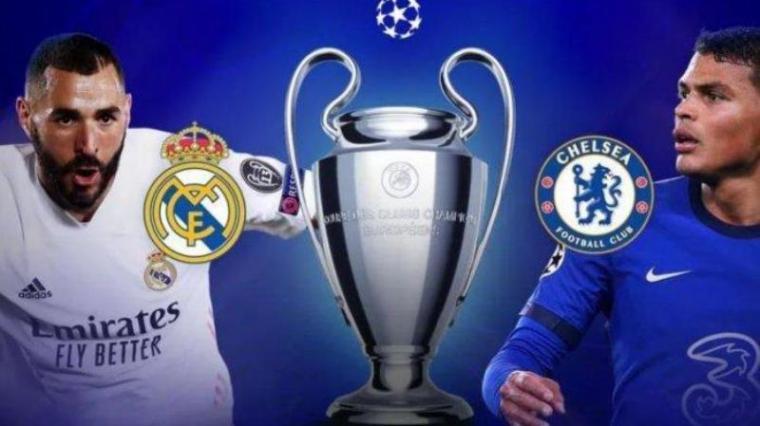 Real Madrid vs Chelsea. (Dok: Tribunnews)