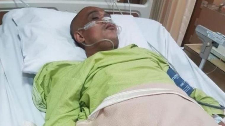 Kondisi Sapri yang Dirawat di ICU. (Dok: Suara)