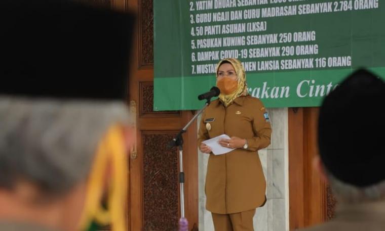 Bupati Serang, Ratu Tatu Chasanah. (Foto: Ist)