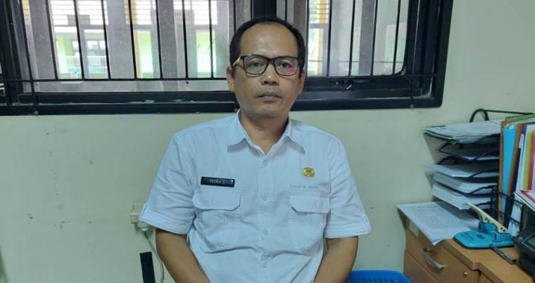 Kepala Bidang (Kabid) Badan Pengelolaan Keuangan dan Aset Daerah (BPKAD) Kabupaten Serang, Indra Gunawan.