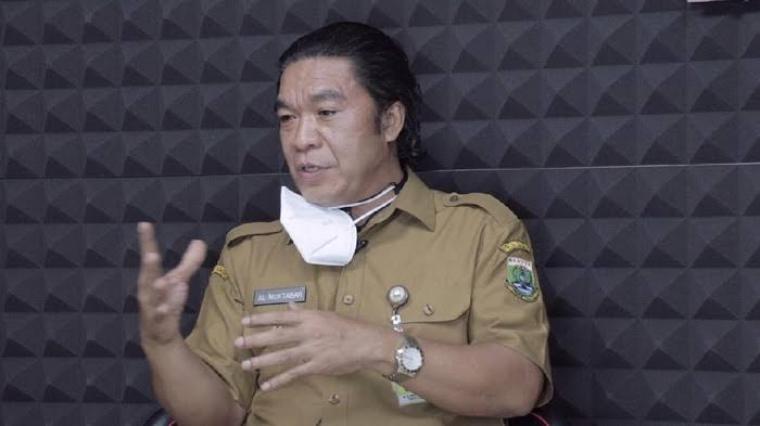 Sekretaris daerah (Sekda) Banten Al Muktabar. (Dok: Detik)