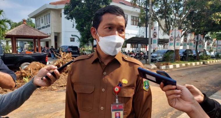 Kepala Badan Kepegawaian (BKD) Provinsi Banten Komarudin. (Foto: TitikNOL)