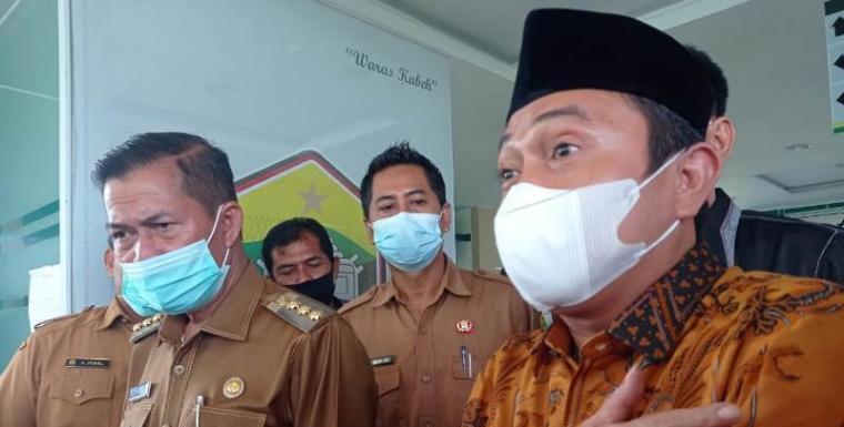 Walikota Serang Syafrudin dan Wakil Walikota Serang Subadri Ushulidin. (Dok: Kedaipena)