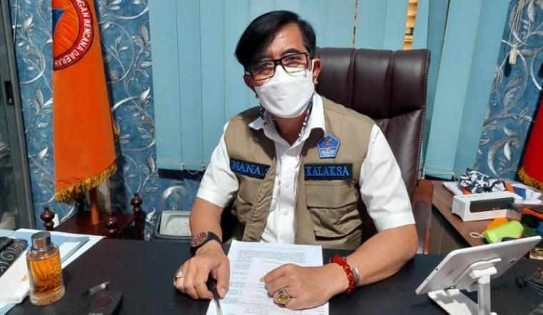 Kepala Pelaksana (Kalaksa) Badan Penanggulangan Bencana Daerah (BPBD) Kabupaten Serang, Nana Sukmana.